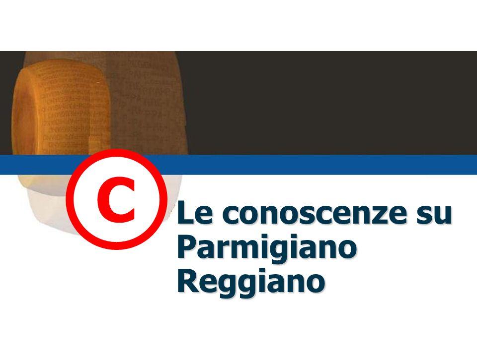 Le conoscenze su Parmigiano Reggiano C