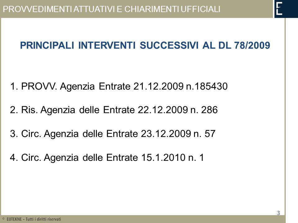 VISTO DI CONFORMITÀ 24 C.M.17.6.99 n.
