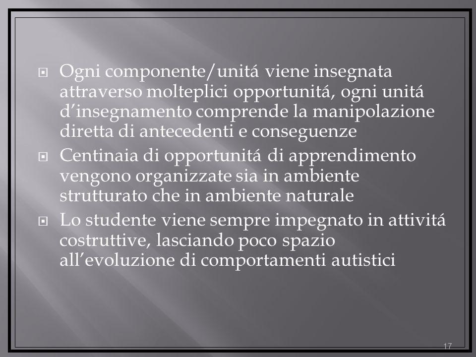 Il piú efficace intervento (educativo) per lAutismo Autismo viene visto come un problema di natura neurologica, la cui manifestazione é aperta al camb