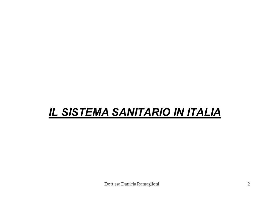 2 IL SISTEMA SANITARIO IN ITALIA
