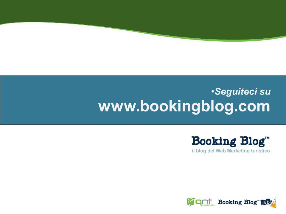 Seguiteci su www.bookingblog.com