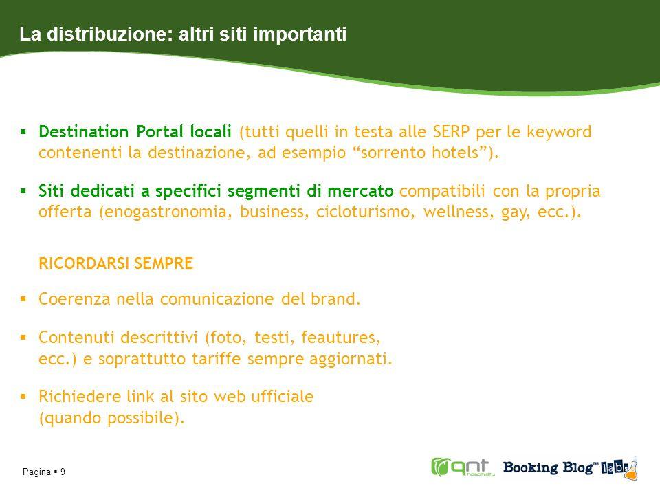 Pagina 10 SEO (Search Engine Optimization) Ottimizzare il sito web per una buona indicizzazione (fattori on-site).