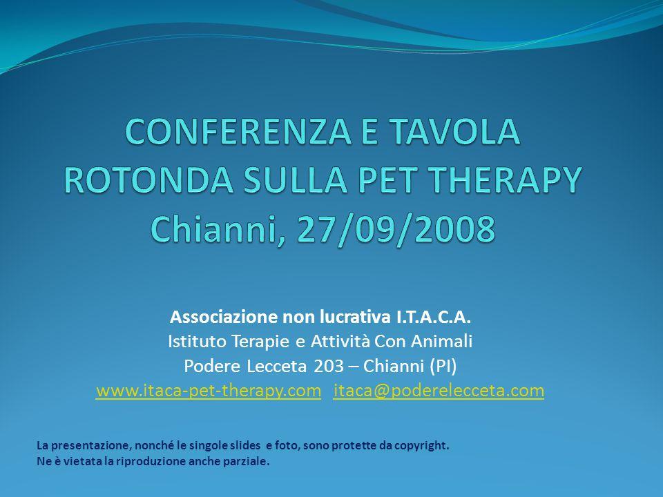 Relazione della dottoressa Marina Giuseppini, psicologa, psicoterapeuta, presidente I.T.A.C.A.