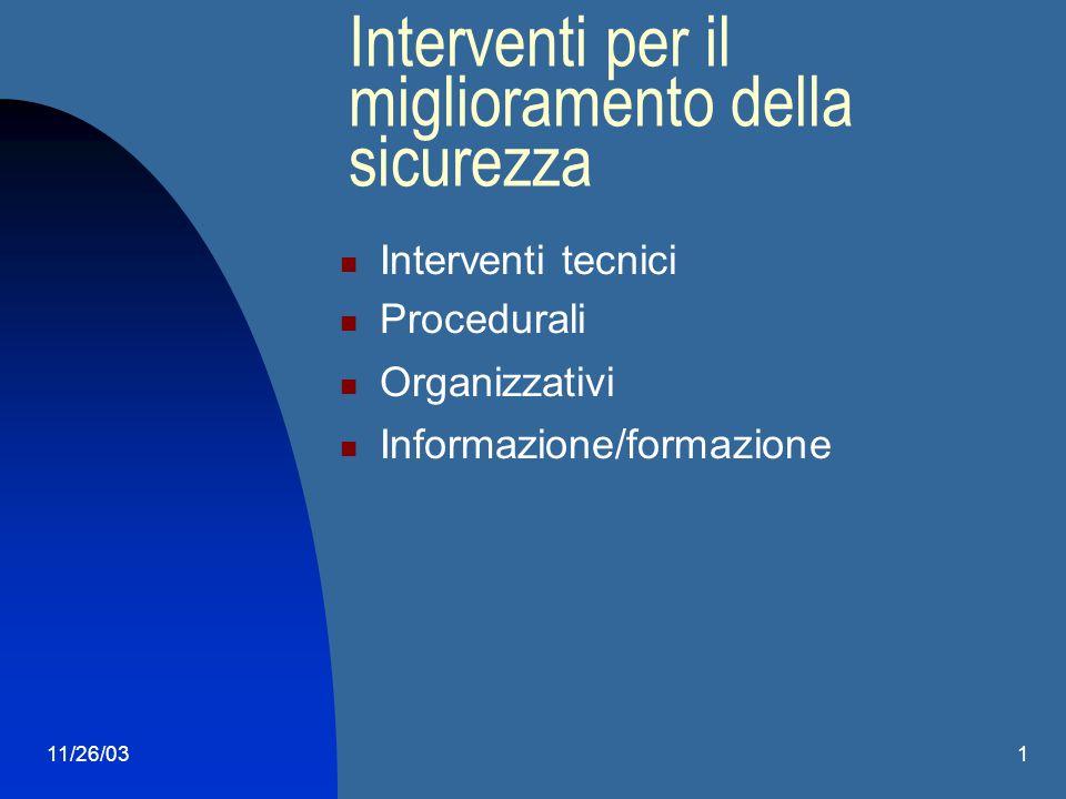 11/26/031 Rischi trasversali od organizzativi: organizzazione del lavoro fattori psicologici fattori ergonomici condizioni di lavoro difficili