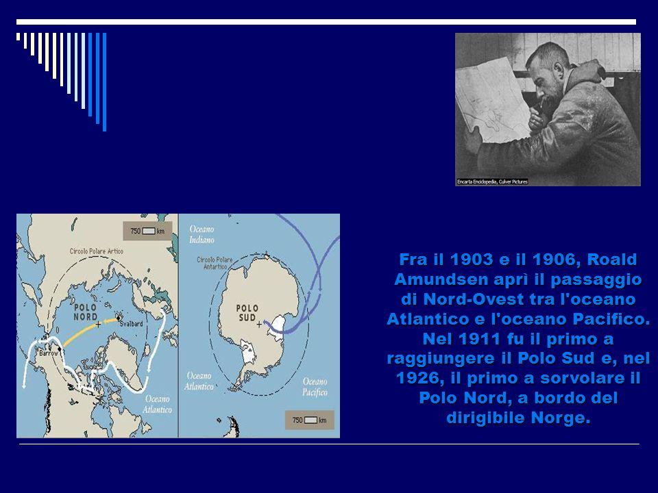 Roald Engelbert Amundsen era un esploratore norvegese.