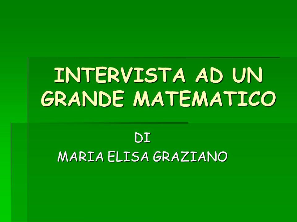 Il grande matematico che ho scelto di intervistare è: PIERRE DE FERMAT