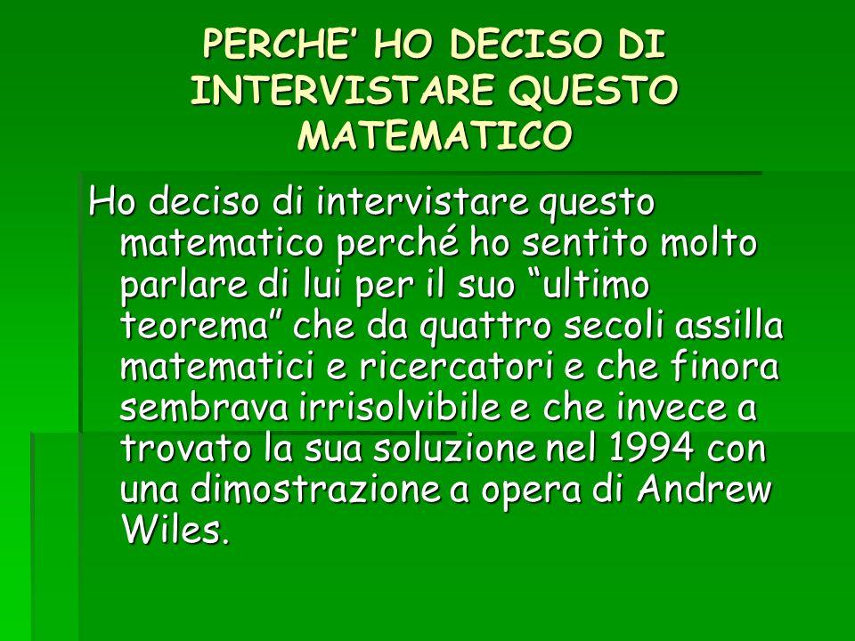 5.Mi può dare una spiegazione delle scoperte matematiche che mi ha precedentemente elencato.