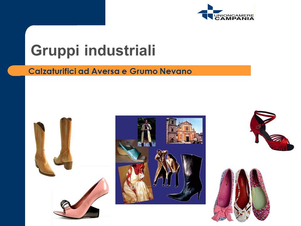 Calzaturifici ad Aversa e Grumo Nevano Gruppi industriali