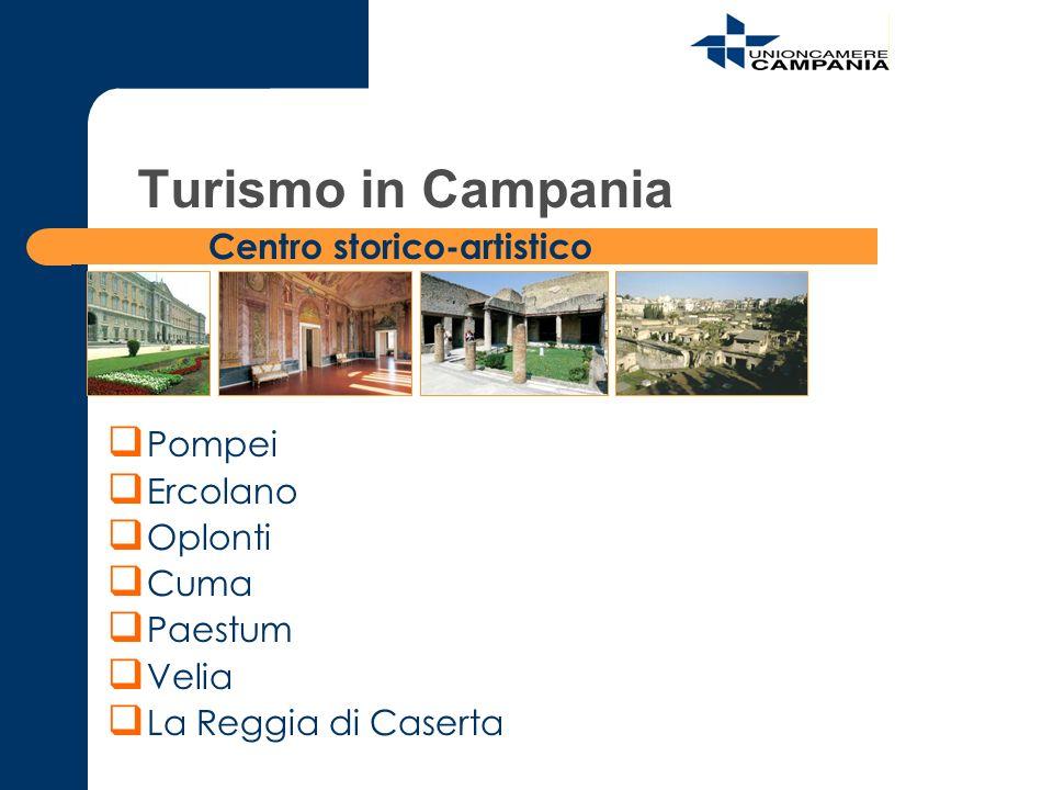 Pompei Ercolano Oplonti Cuma Paestum Velia La Reggia di Caserta Centro storico-artistico