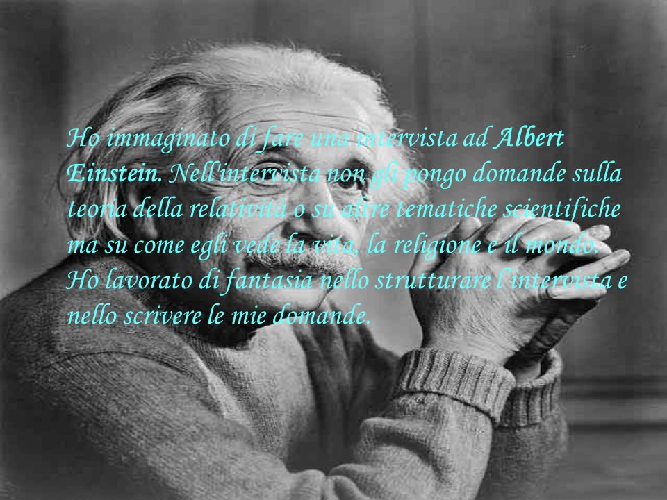 Buongiorno Albert.