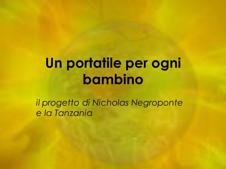 Un portatile per ogni bambino il progetto di Nicholas Negroponte e la Tanzania