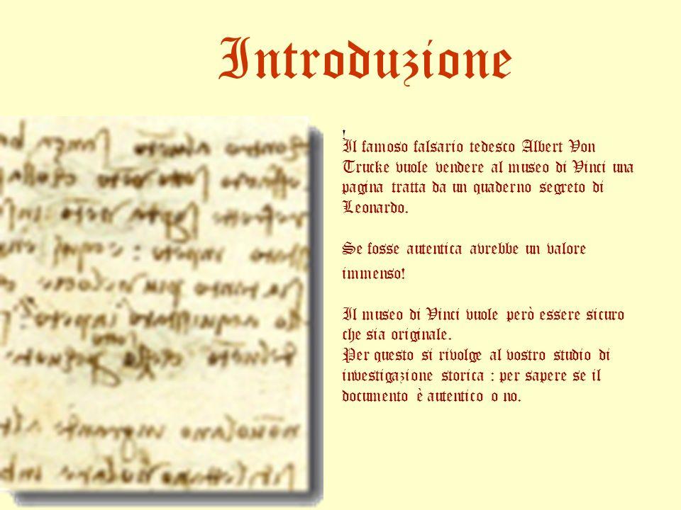 Firenze, adi 23 daprile 1485 Penso e rifletto e osservo continuamente.