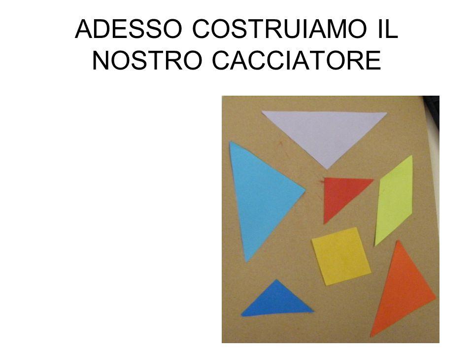 ADESSO COSTRUIAMO IL NOSTRO CACCIATORE