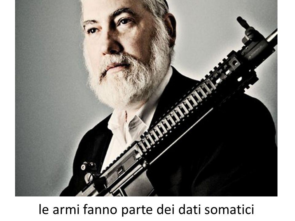 le armi fanno parte dei dati somatici
