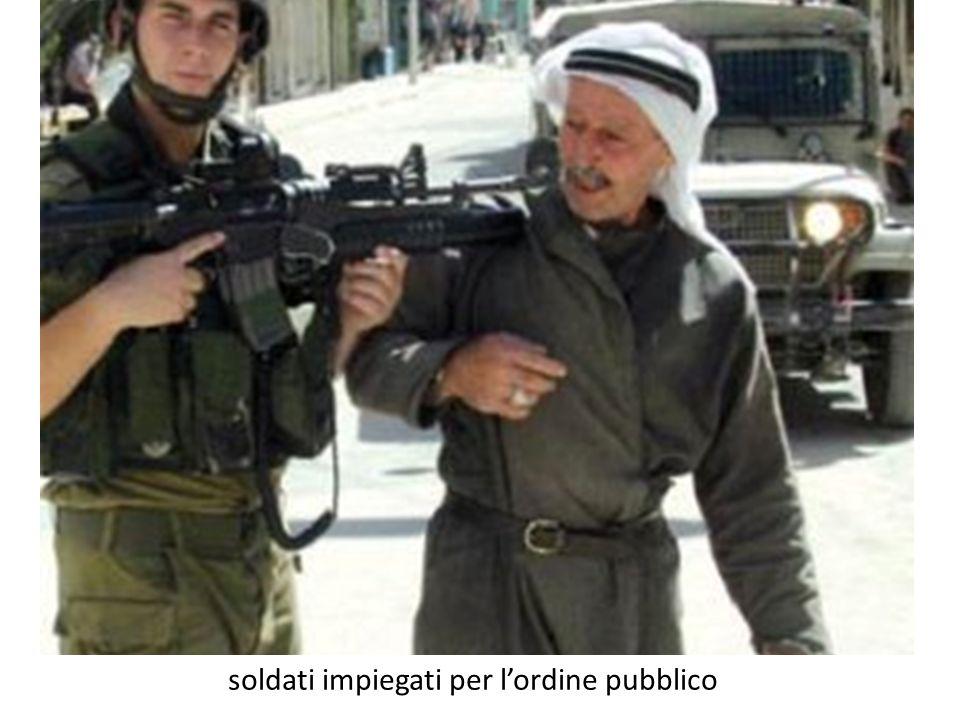 soldati impiegati per lordine pubblico
