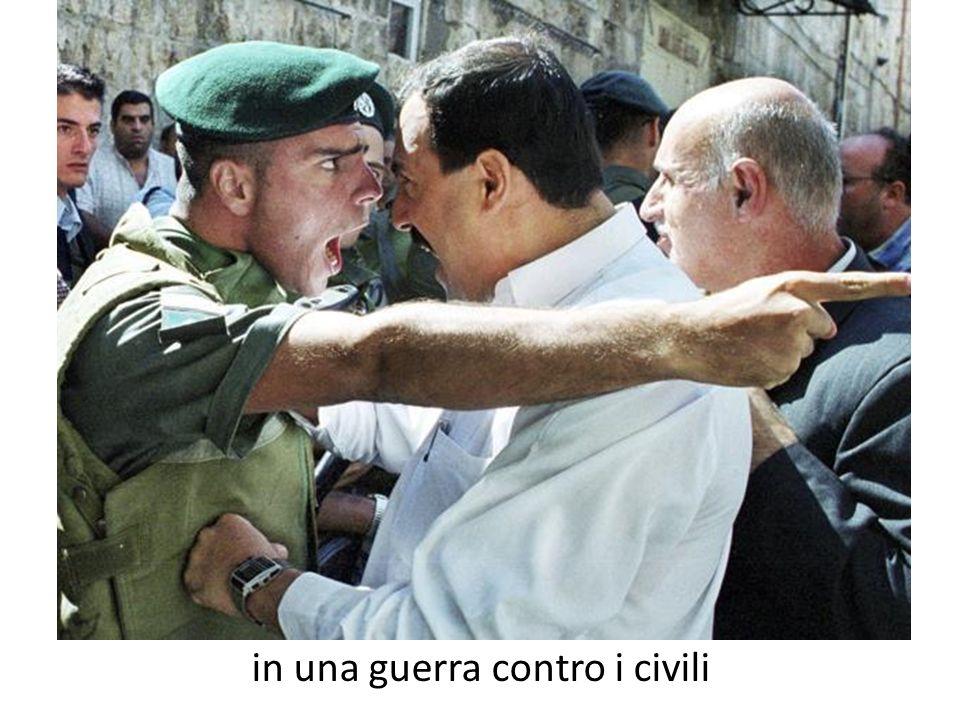in una guerra contro i civili