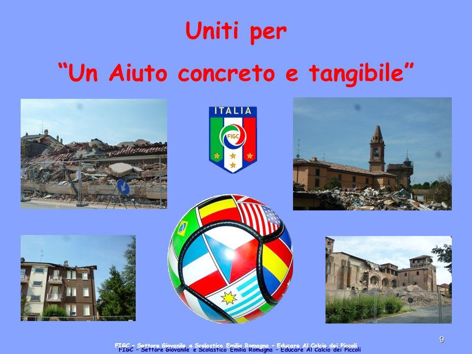 9 Uniti per Un Aiuto concreto e tangibile FIGC – Settore Giovanile e Scolastico Emilia Romagna – Educare Al Calcio dei Piccoli
