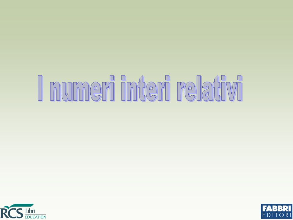 Il quoziente di due numeri relativi è un numero relativo che ha come valore assoluto il quoziente dei valori assoluti ed è positivo se i due numeri sono concordi, negativo se sono discordi.
