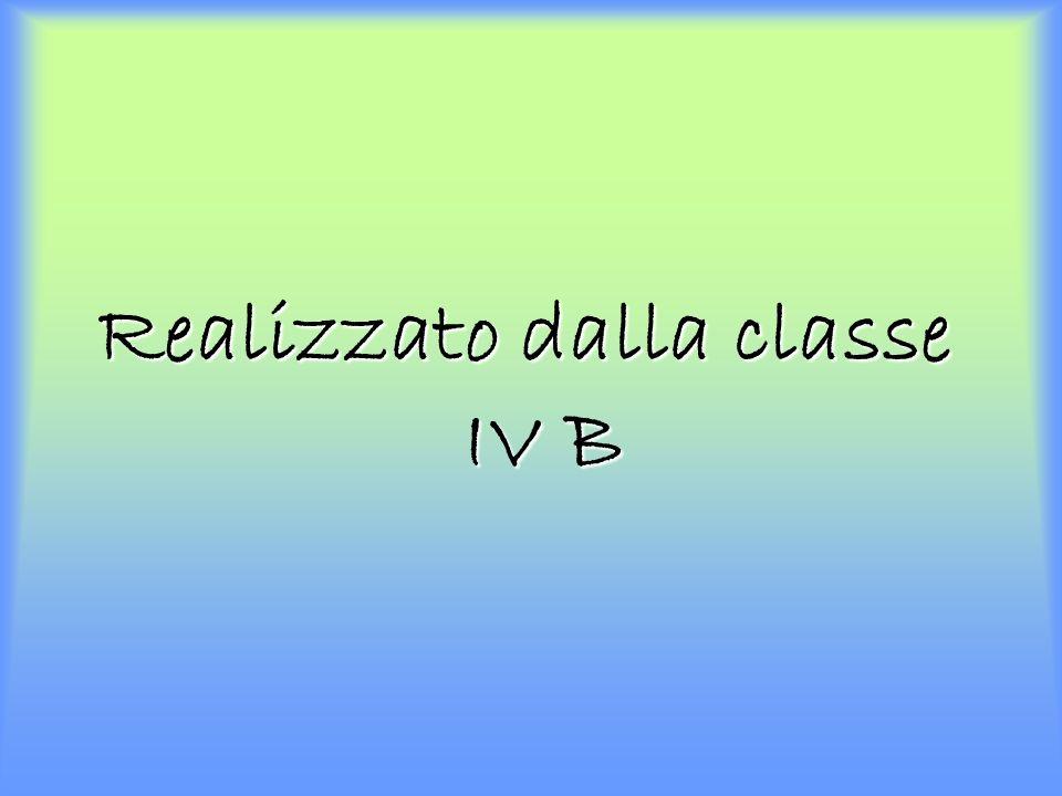 Realizzato dalla classe IV B