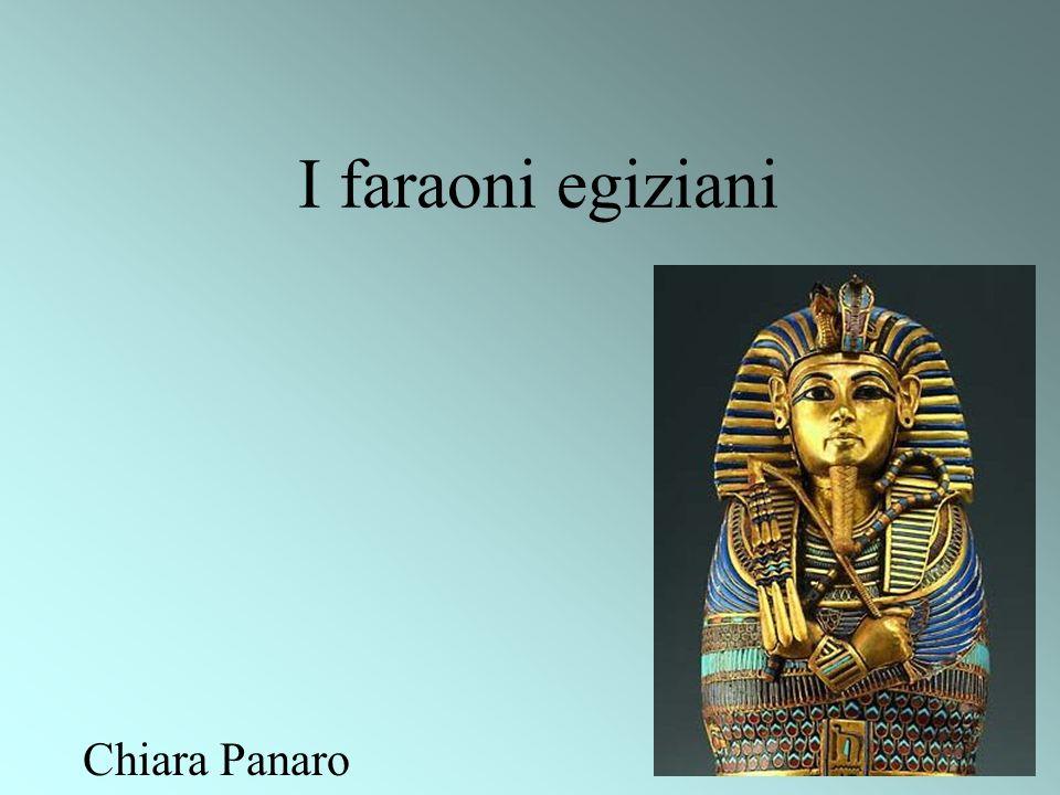 I faraoni egiziani Chiara Panaro