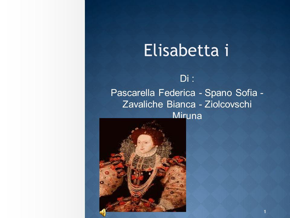 1 Elisabetta i Di : Pascarella Federica - Spano Sofia - Zavaliche Bianca - Ziolcovschi Miruna
