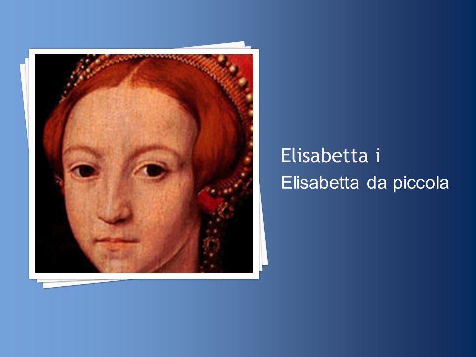 Elisabetta i Elisabetta da piccola