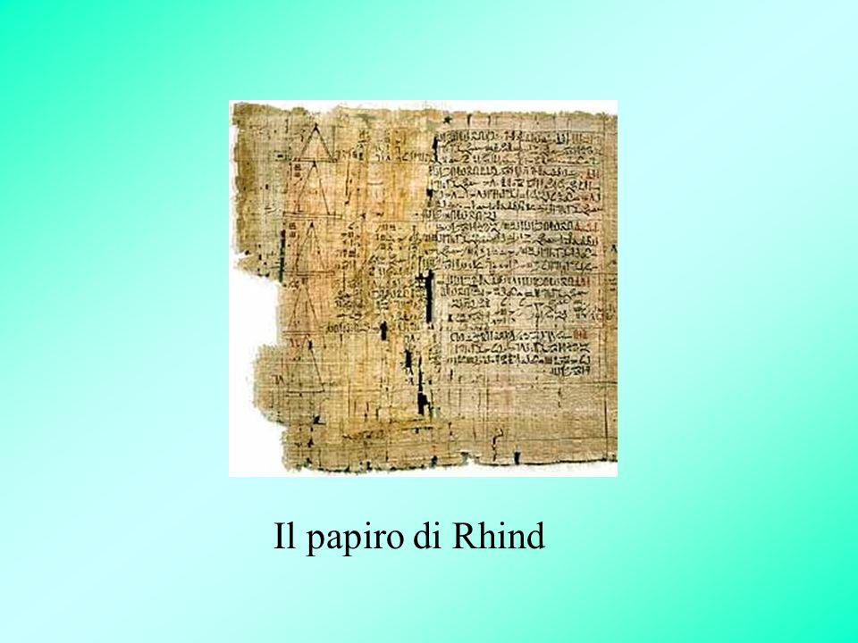 Il papiro di Rhind
