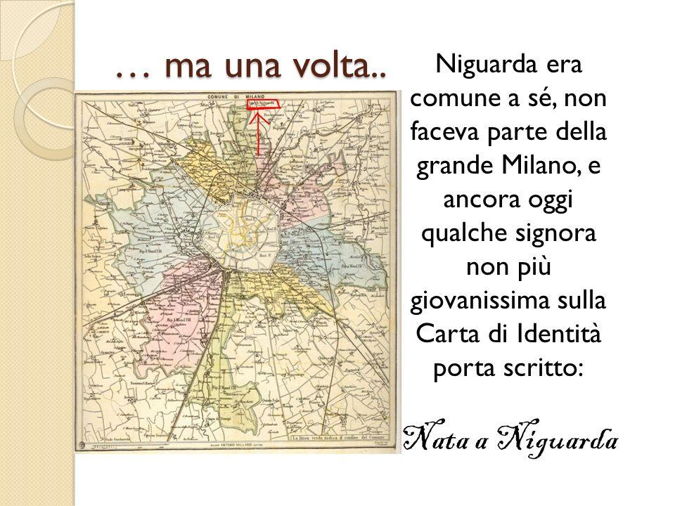 Rispetto alla carta di Milano siamo lassù a Nord ….