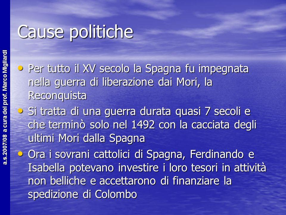 a.s.2007/08 a cura del prof. Marco Migliardi Fine