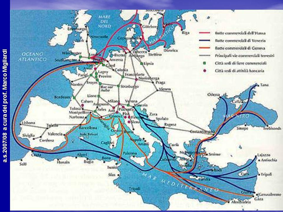 a.s.2007/08 a cura del prof. Marco Migliardi Cause economiche Ci sono di mezzo ancora gli arabi e i turchi Ci sono di mezzo ancora gli arabi e i turch