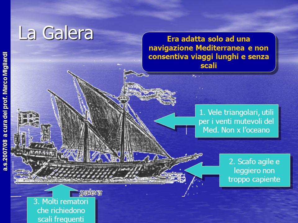 Cause tecnologiche La navigazione oceanica era possibile solo con la presenza delle tecnologie adatte La navigazione oceanica era possibile solo con l
