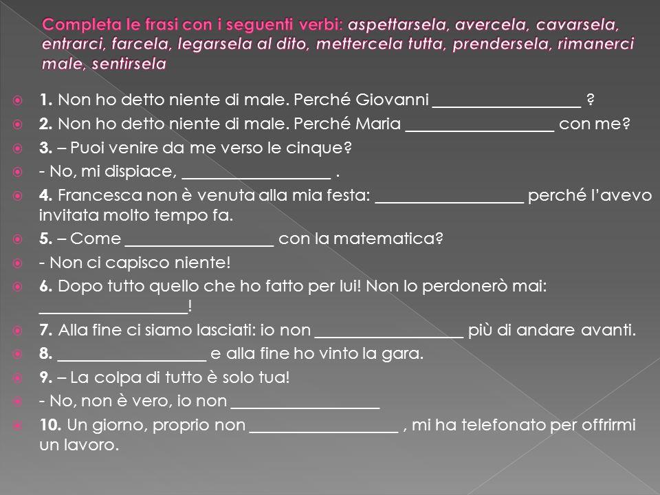http://parliamoitaliano.altervista.org/ver bi-pronominali/ http://parliamoitaliano.altervista.org/ver bi-pronominali/