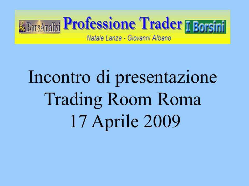 Motivazioni del corso Trading = Professione