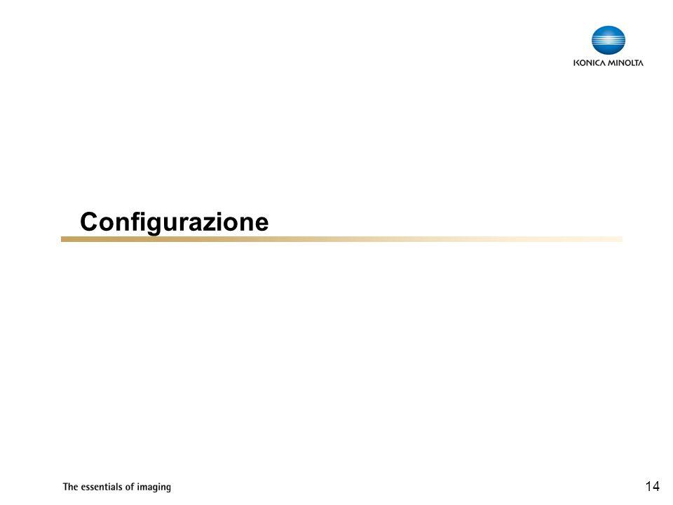 14 Configurazione