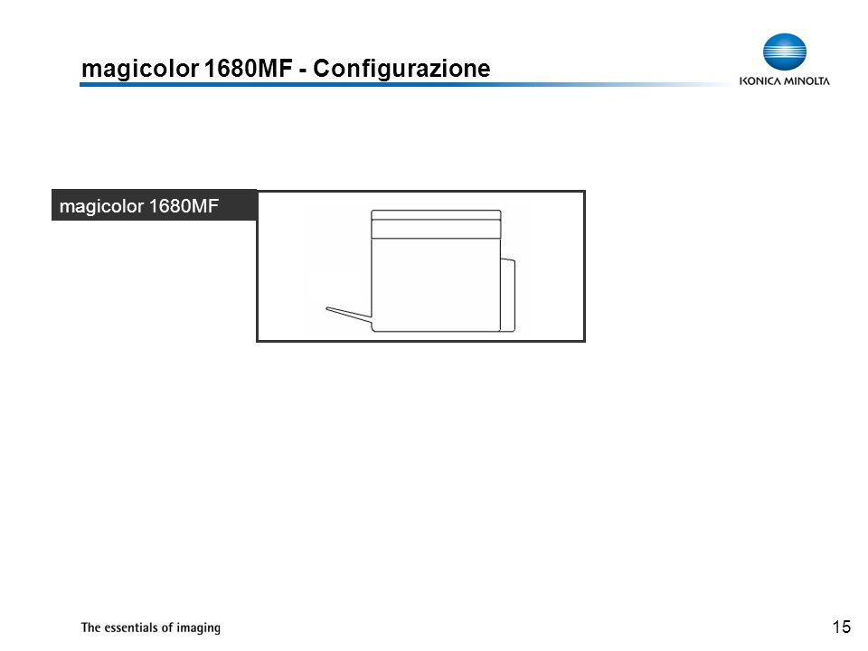 15 magicolor 1680MF - Configurazione magicolor 1680MF