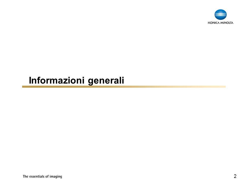 2 Informazioni generali