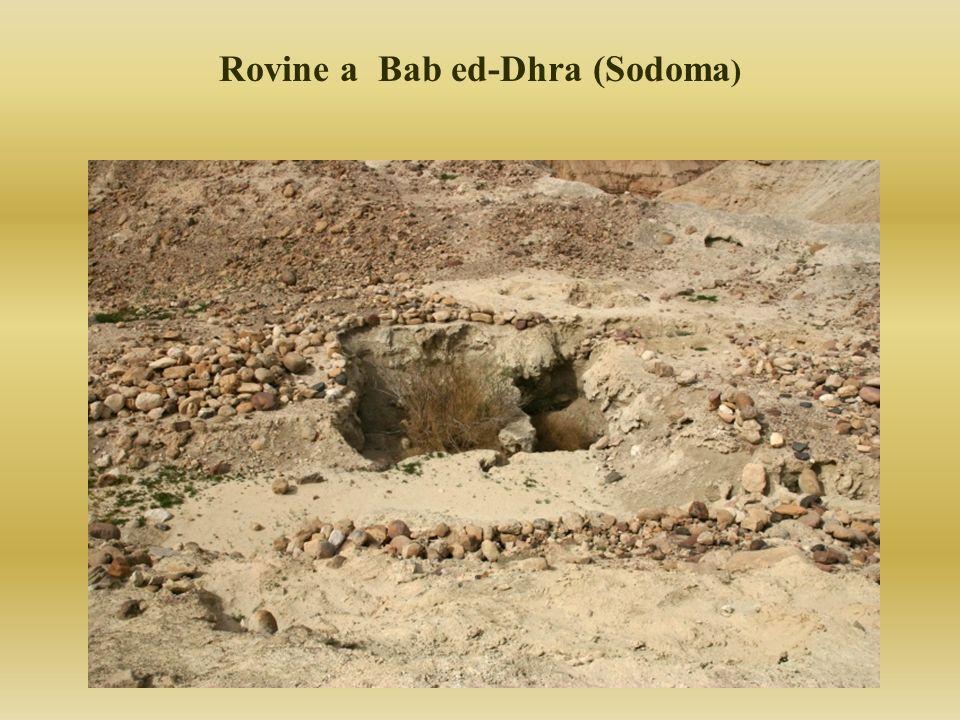 Rovine a Bab ed-Dhra (Sodoma )