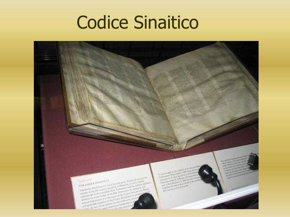 Codice Sinaitico