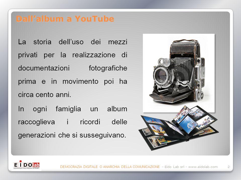 La storia delluso dei mezzi privati per la realizzazione di documentazioni fotografiche prima e in movimento poi ha circa cento anni.