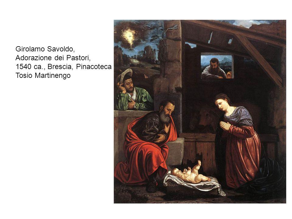 Savoldo, Ritratto di giovane con flauto, 1530 ca, Brescia, Pinacoteca Tosio Martinengo Giovan Battistya Moroni, Ritratto di Giovanni Bressani, 1560 ca., Edimburgo, National Gallery of Scotland