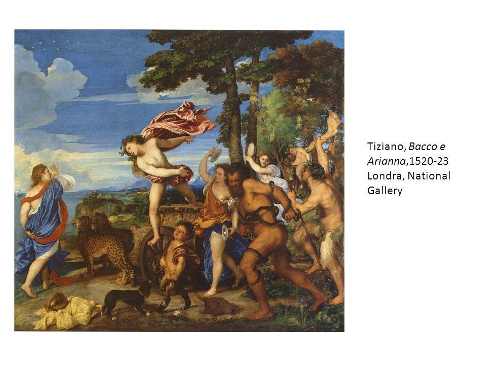Tiziano, Bacco e Arianna,1520-23 Londra, National Gallery