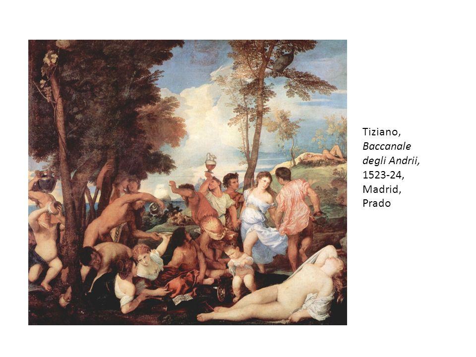 Tiziano, Baccanale degli Andrii, 1523-24, Madrid, Prado