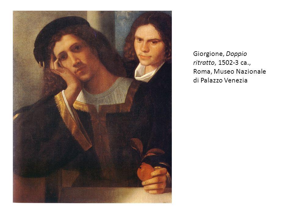 Giorgione, Doppio ritratto, 1502-3 ca., Roma, Museo Nazionale di Palazzo Venezia
