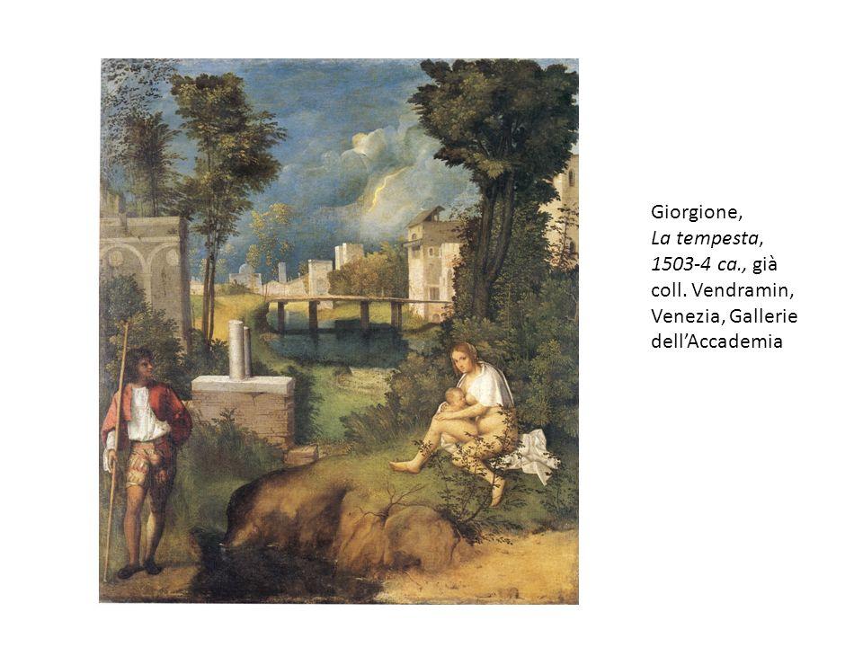 Giorgione, La tempesta, 1503-4 ca., già coll. Vendramin, Venezia, Gallerie dellAccademia