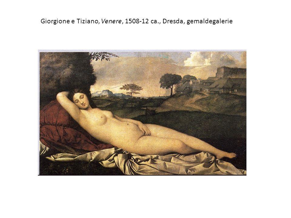 Tiziano, Venere di urbino, 1538 ca., Firenze, Uffizi