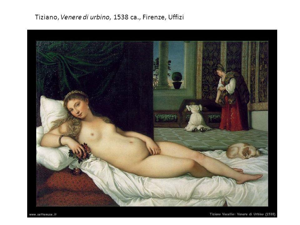Tiziano, Flora 1515-17 ca., Firenze, Uffizi