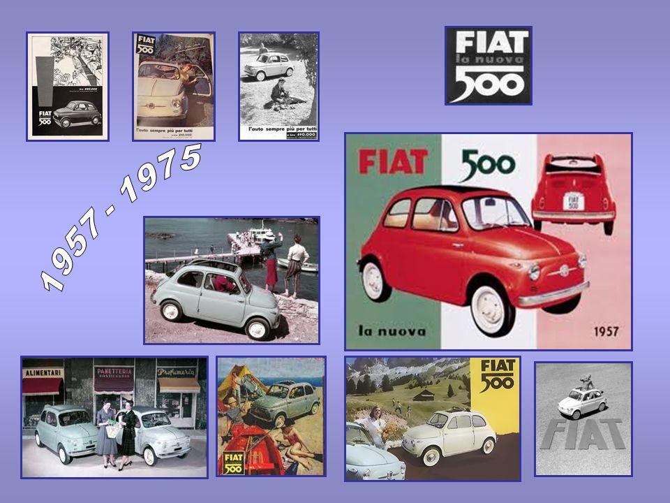 Lidea per una vettura per tutti La storia della FIAT Nuova 500 occupa una fase importante del passato automobilistico del nostro Paese tanto da diventarne una icona.