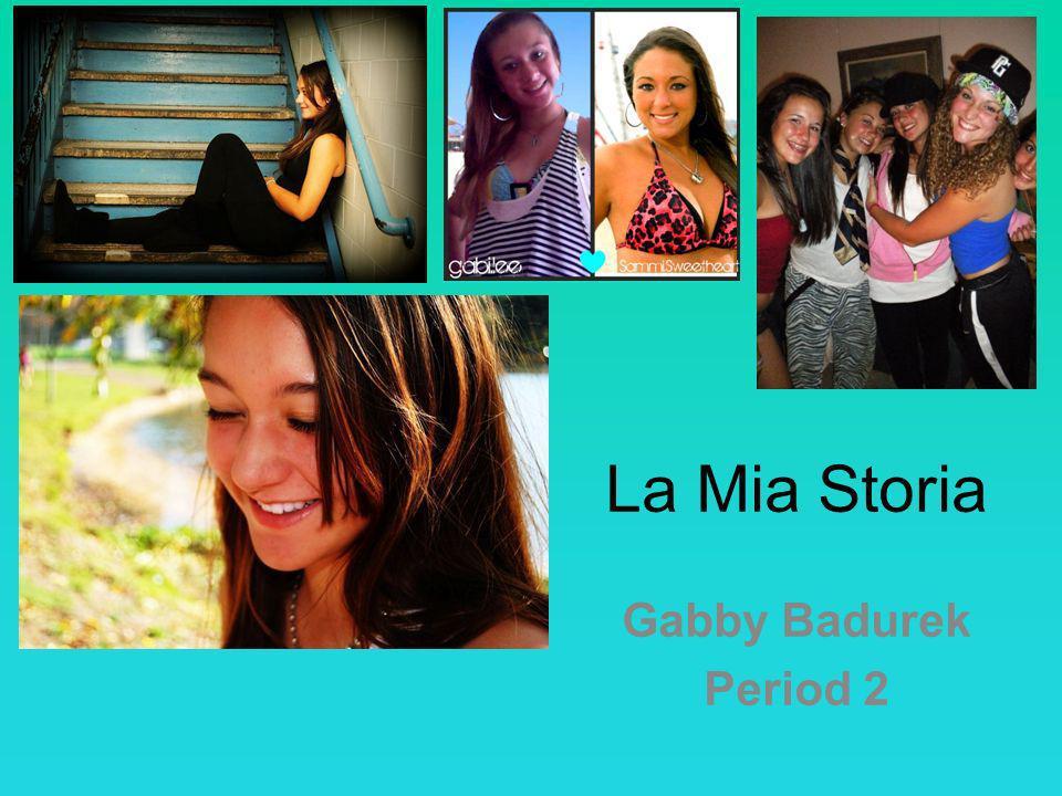 La Mia Storia Gabby Badurek Period 2