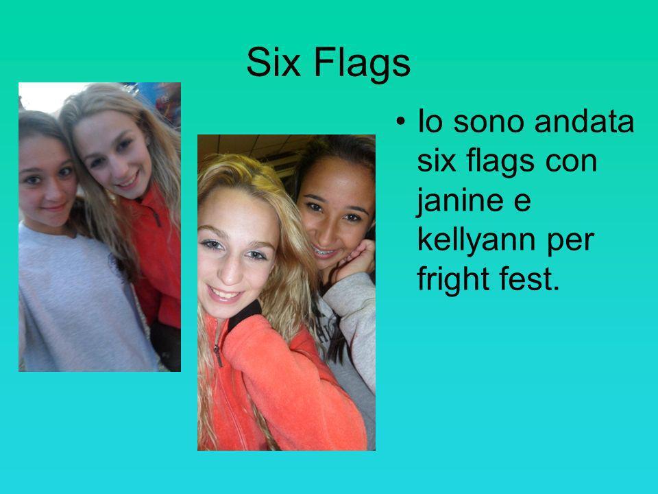 Six Flags Io sono andata six flags con janine e kellyann per fright fest.