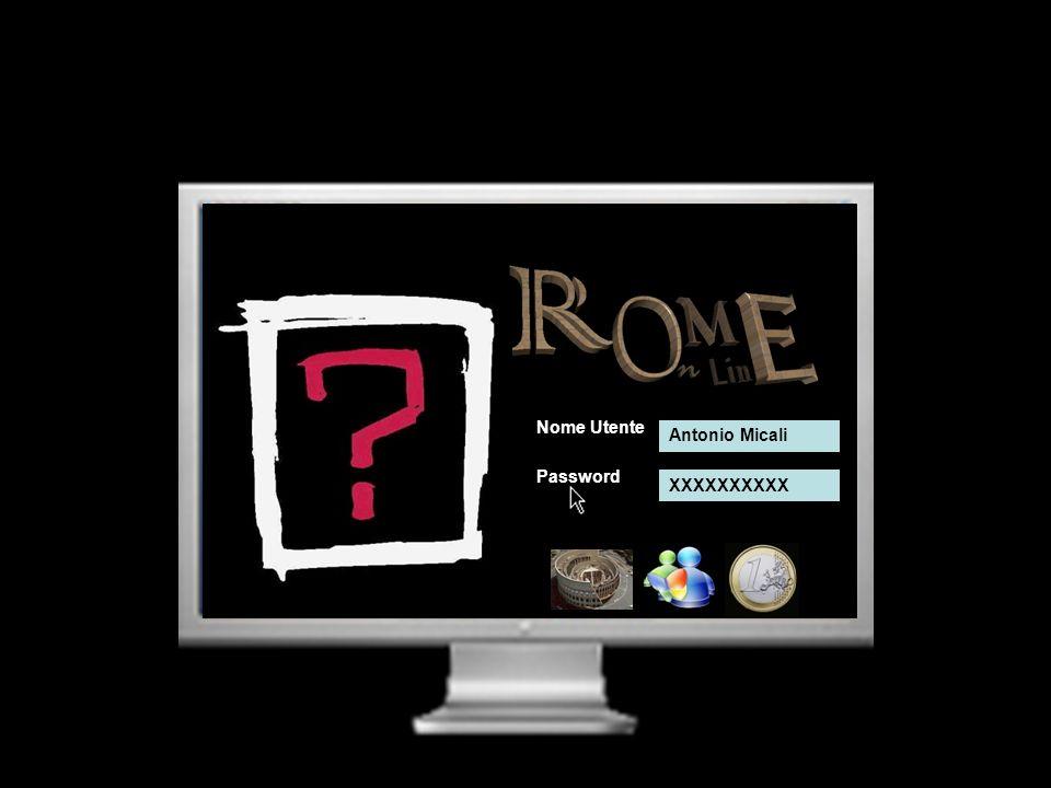 Nome Utente Password Antonio Micali XXXXXXXXXX